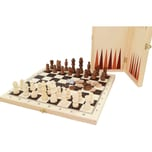 Longfield SchachDameBackgammon Koffer