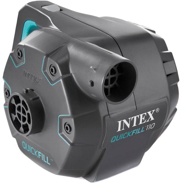 Intex Elektrische Pumpe Mit 3 Verbindungs-Düsen Und Überhitzungs-Schutz Pumpleistung 1100 Lh