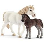 Schleich 42423 Farm World: Pony Stute und Fohlen