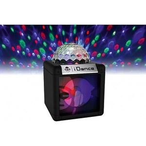 bigben Karaokeanlage Sing Cube 100BK BT Disco Ball wired Micro schwarz