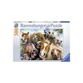 Ravensburger Puzzle Pferde Selfie 500-teilig