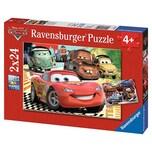 Ravensburger 2er Set Puzzle je 24 Teile 26x18 cm Disney Cars: Neue Abenteuer