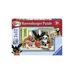 Ravensburger 2er Set Puzzle je 12 Teile 26x18 cm Bings Abenteuer