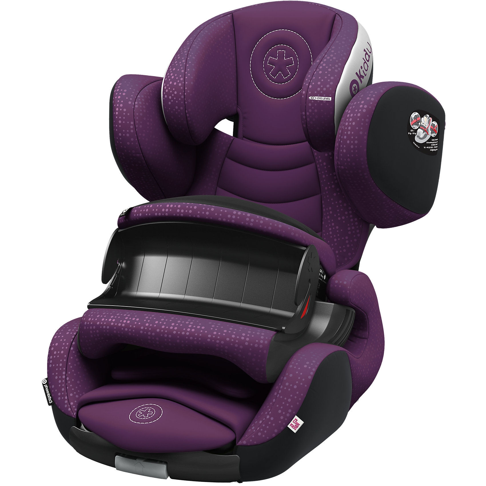 Kiddy Auto-Kindersitz Phoenixfix 3 royal purple 2018