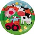 Amscan Partyset Farm Fun 68-tlg.