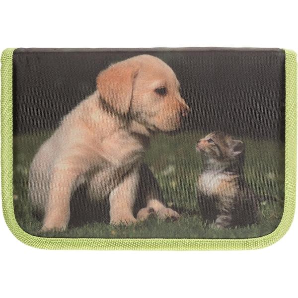 Idena Idena Schüleretui Katze und Hund 50-tlg.