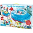 Playgo Paint Pottery Wheel 2in1
