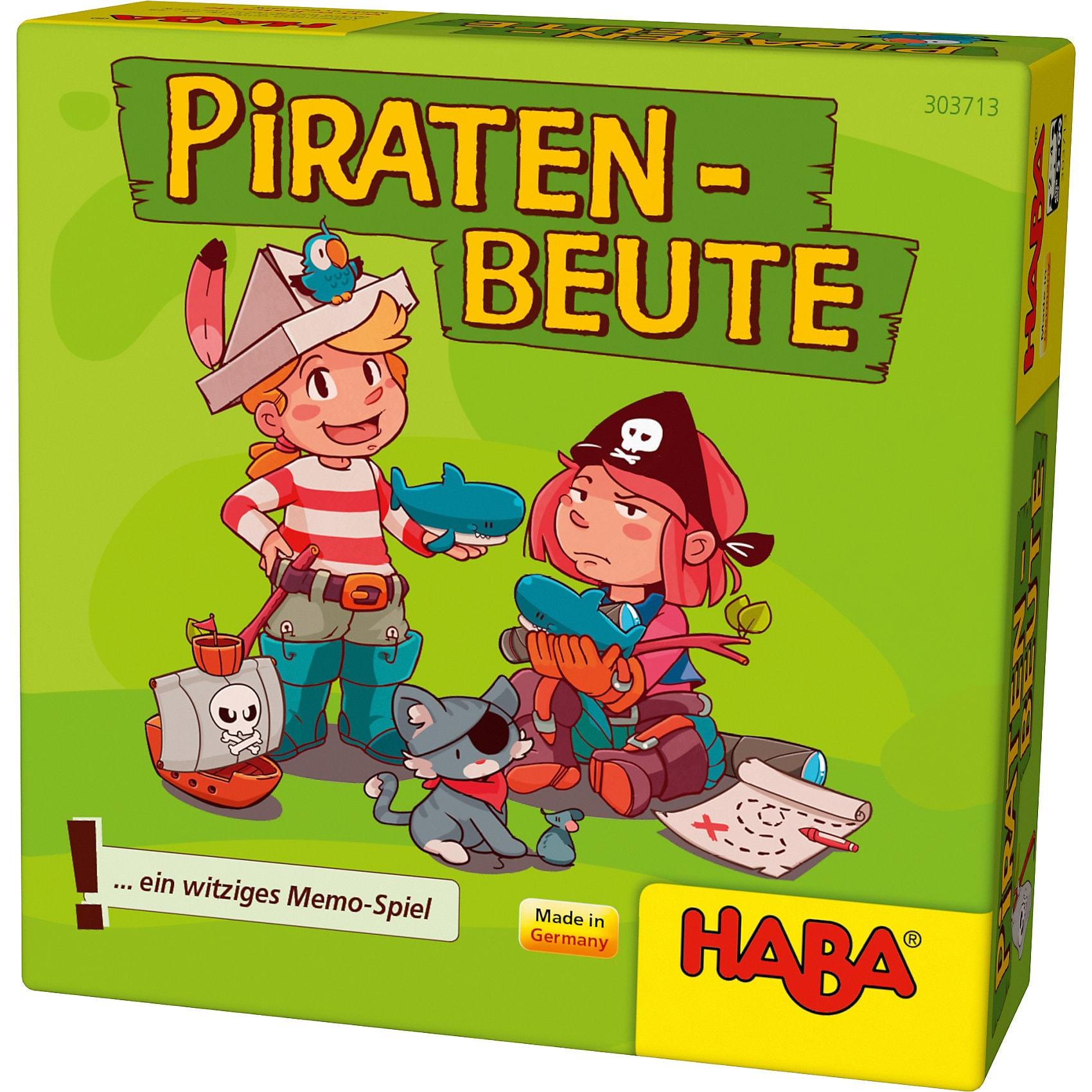 Haba Piraten-Beute Mini-Mitbringspiel