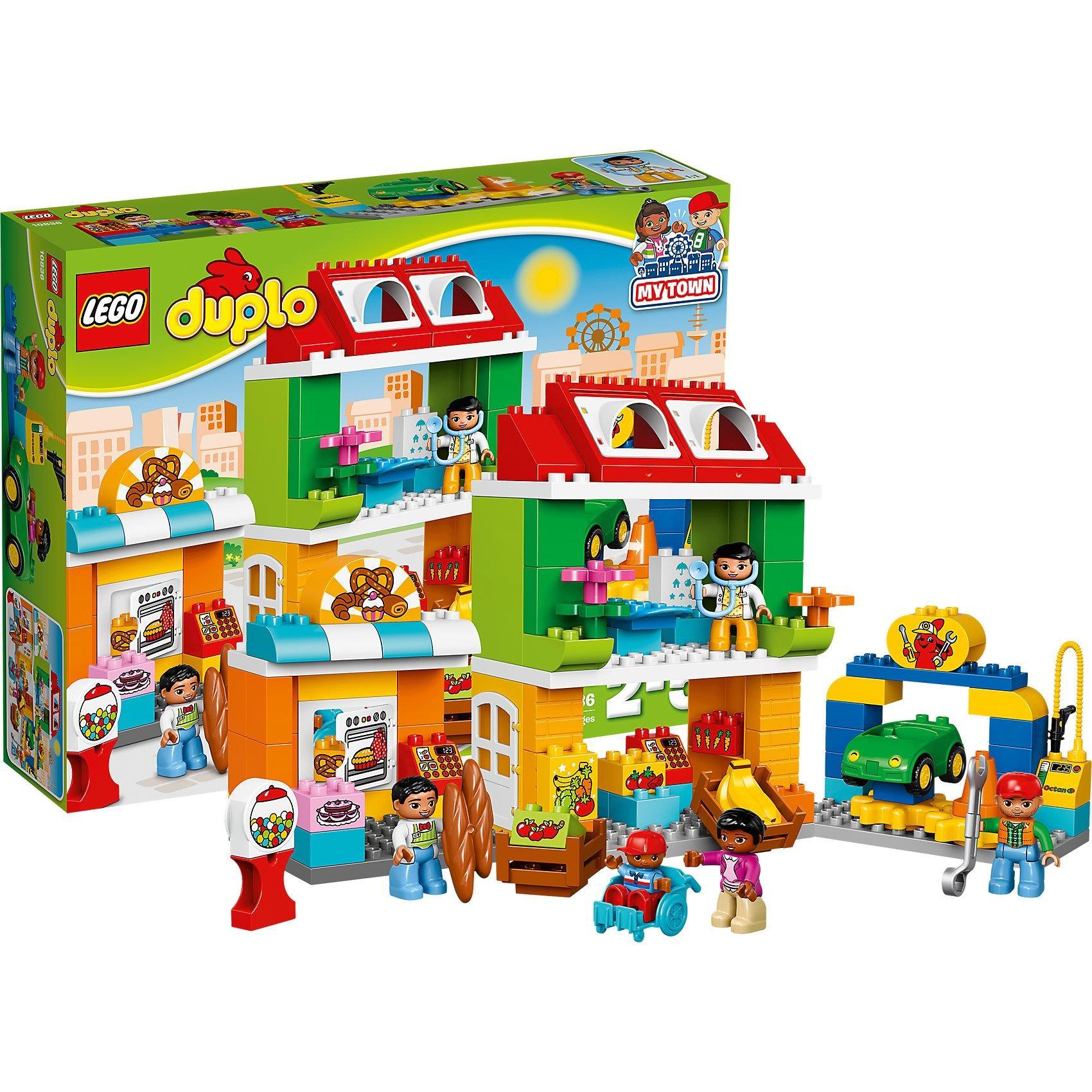 Lego Duplo 10836 Stadtviertel