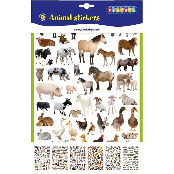 Playbox Sticker Tiere 300 Stück