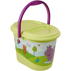 keeeper Windeleimer Hippo limegrün