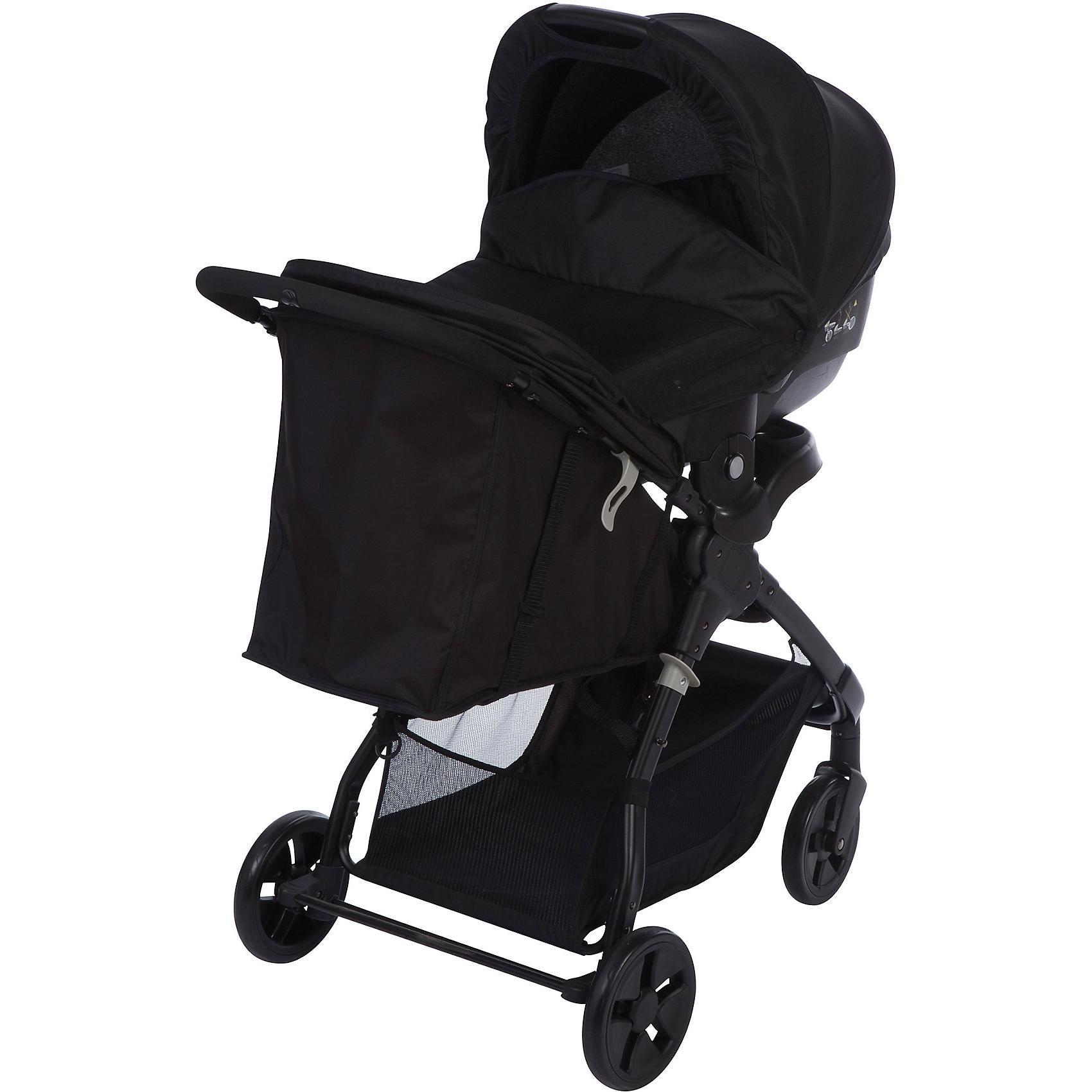 Safety 1st Kombi Kinderwagen Amble 3 in 1 Full Black inkl. Babyschale 2018