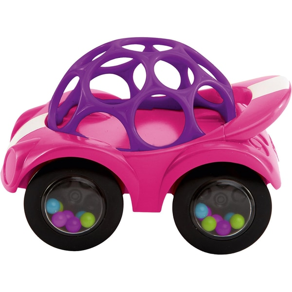 Kids II Oball Rattle Roll Auto pinklila