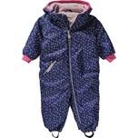 Racoon Outdoor Baby Schneeanzug Bibi Heart für Mädchen