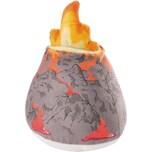 NICI Plüschvulkan 12 cm mit Wolke und Feuer in Geschenkverpackung