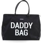 Childhome Wickeltasche Daddy Bag schwarz