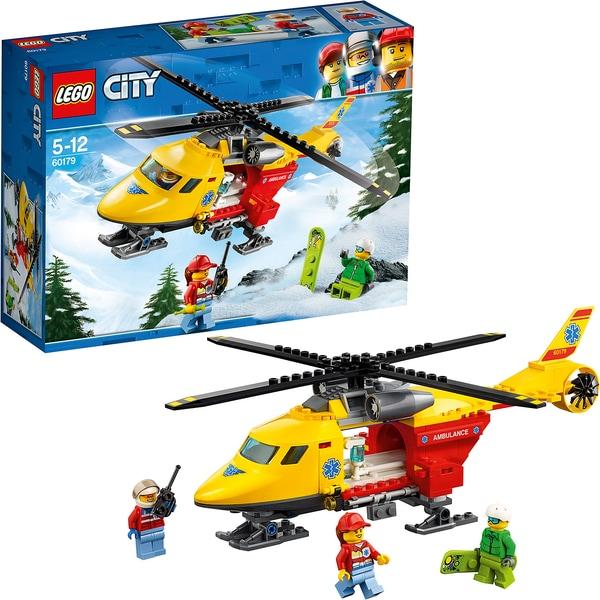 Lego City 60179 Rettungshubschrauber