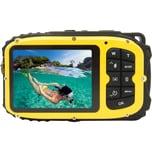 easypix Unterwasser Digitalkamera Aquapix W1627 Ocean Gelb