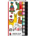 Marabu Window Color Set LAMA 10 x 25 ml