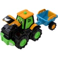 Wader Wozniak Jcb Fun Farm Traktor Tim Mit Anhänger