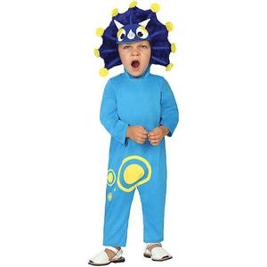 atosa Kostüm Dinosaurier blau