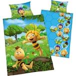 Herding Kinder Wendebettwäsche Biene Maja Renforcé