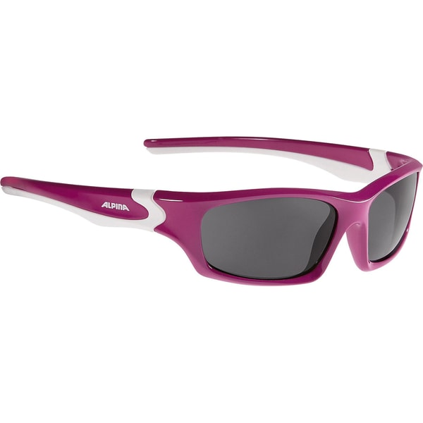 ALPINA Sonnenbrille Flexxy Teen berry