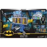Spin Master 3-in-1-Batcave - Zweiseitiges Spielset mit 10cm großer Batman-Actionfigur und umfangreic