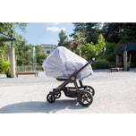Alvi Insektenschutz für Kinderwagen weiß