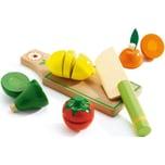 DJECO Rollenspiel Kinderküche - Früchte und Gemüse zum schneiden