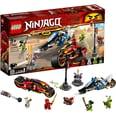 LEGO 70667 Ninjago Kais Feuer-Bike Zanes Schneemobil