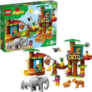 LEGO 10906 Duplo: Baumhaus im Dschungel