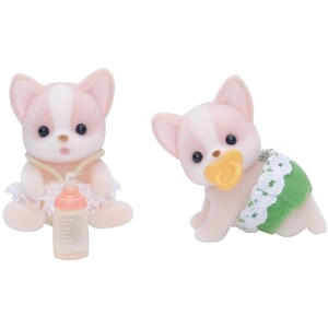 Epoch Traumwiesen Sylvanian Families Chihuahua Zwillinge