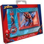 Geschenkset Geldbörse Armbanduhr Spider-Man