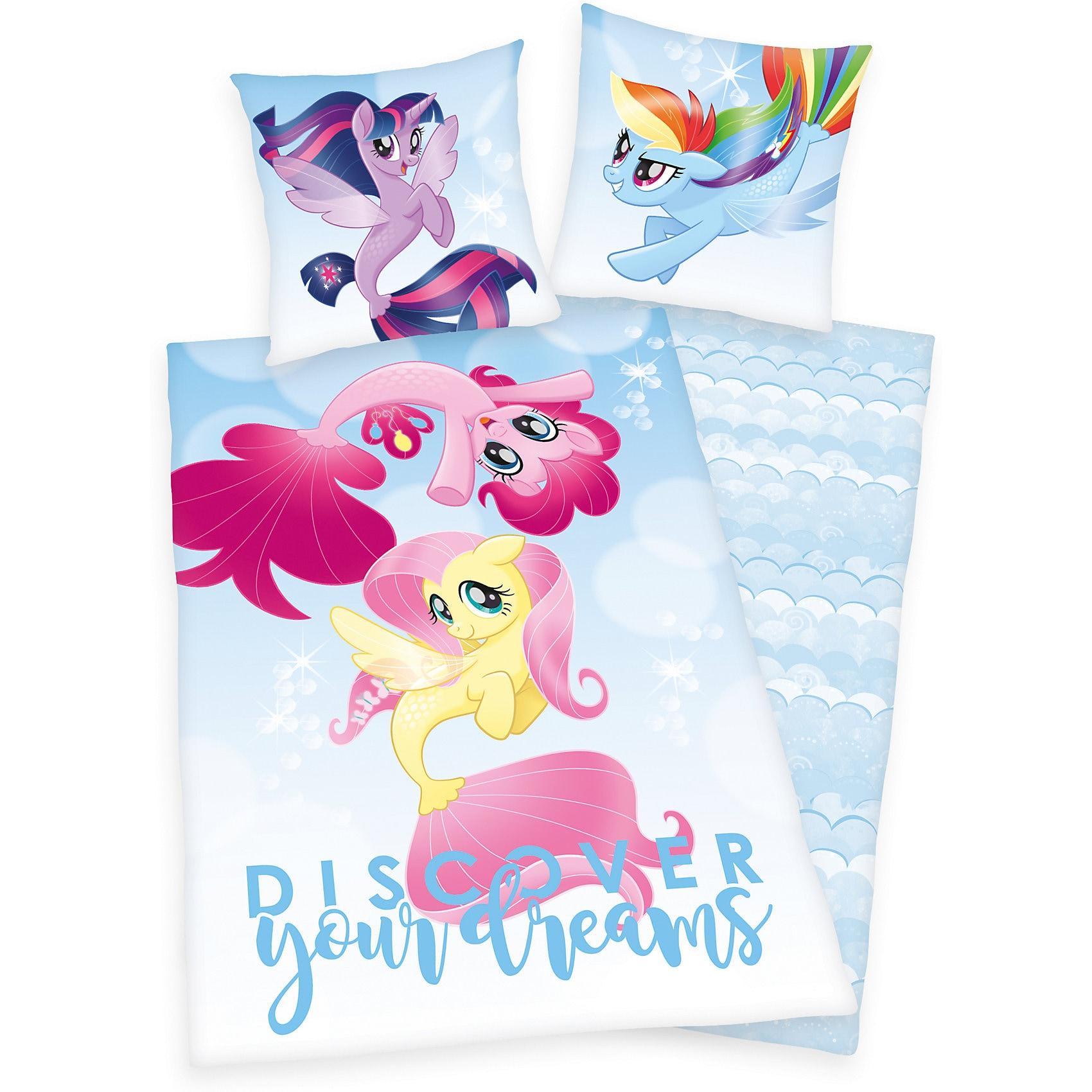 Herding Kinderbettwäsche My Little Pony Renforcé Blau 135 X 200 cm