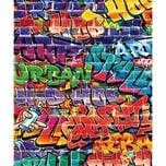 Walltastic Fototapete Graffiti 8 Tlg.