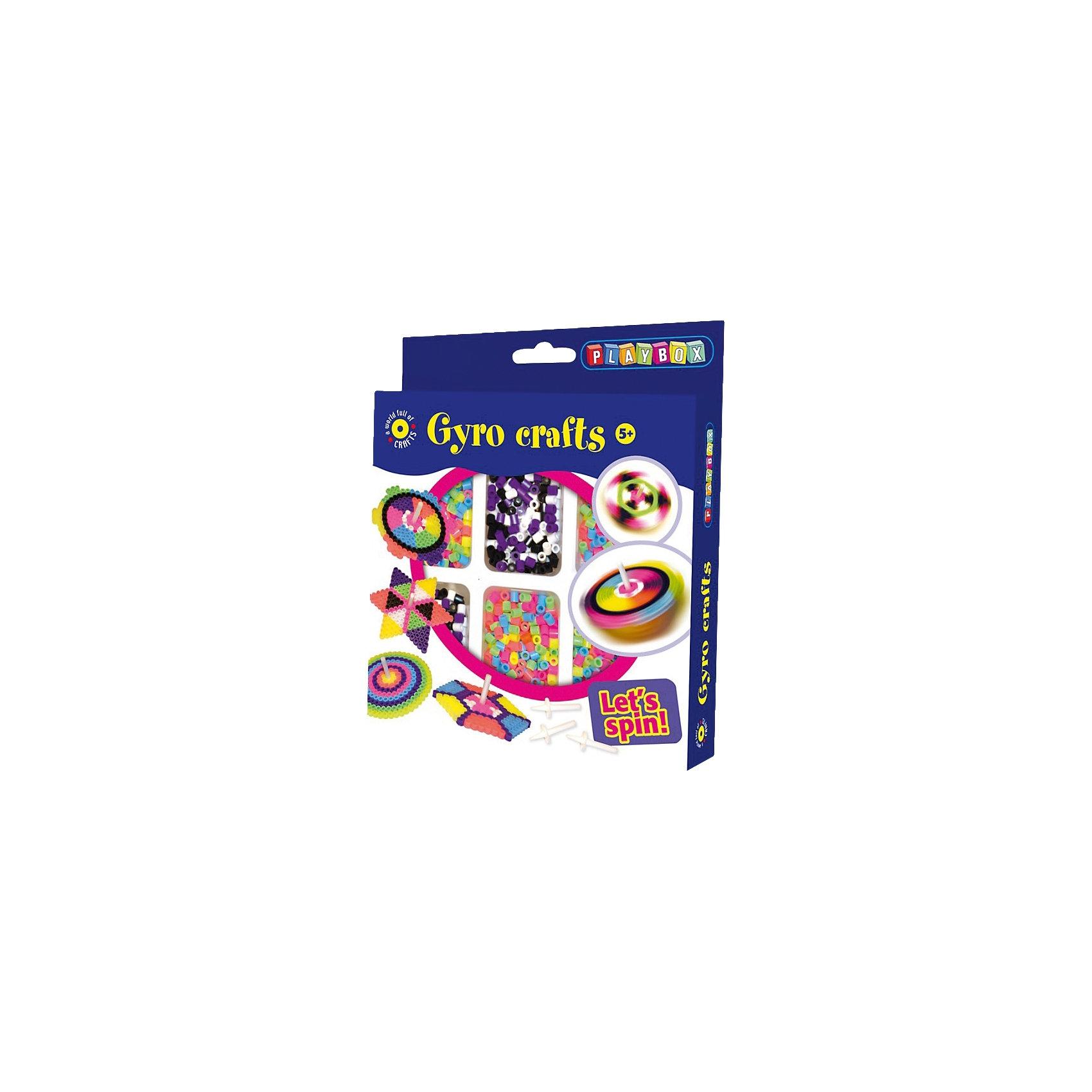 Playbox Bügelperlenset Kreisel 2.000 Perlen Zubehör