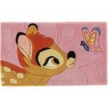 Kinderteppich Bambi mit Schmetterling 50 x 80 cm