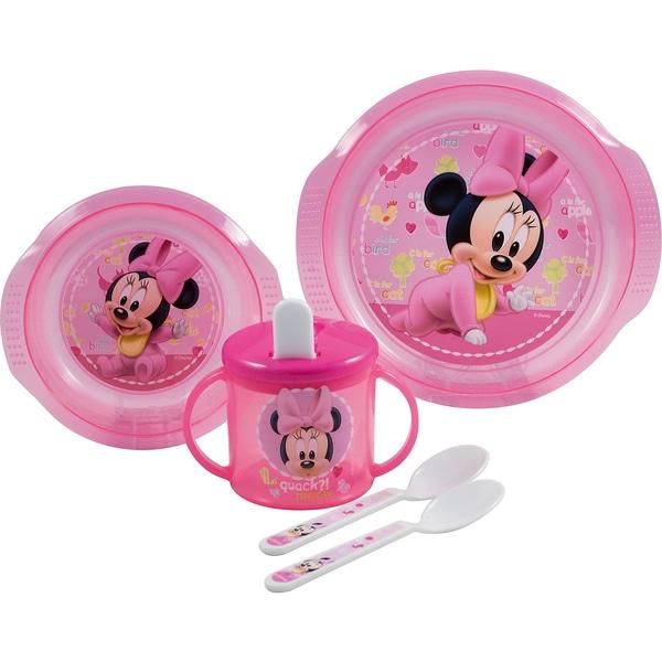 P:OS Baby-Geschirrset Minnie Mouse 5-tlg.