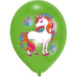 Amscan Luftballon Einhorn 6 Stück