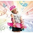 Hudora Skateboard Retro Skate Wonders pink