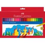 Faber-Castell Filzstift 50er Kartonetui