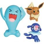 Boti Pokémon Battle Figuren 3er-Pack Robball Evoli Und Woingenau