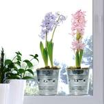 Fenstersticker Blumen Frühling 2-tlg.
