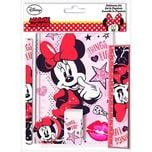 Schreibset mit Notizbuch Minnie Mouse 5-tlg.