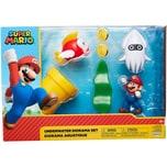 Jakks Pacific Nintendo Super Mario Multipack Spielset Unterwasserwelt 6cm