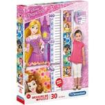 Clementoni Messlatten Puzzle 30 Teile Disney Princess
