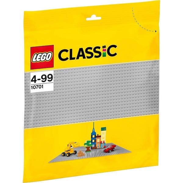 LEGO Classics 10701 Grundplatte grau