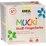 C. KREUL Mucki Stoff-Fingerfarbe 4 x 150 ml