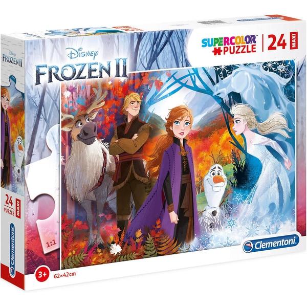 Clementoni Puzzle 24 Teile Maxi Die Eiskönigin 2